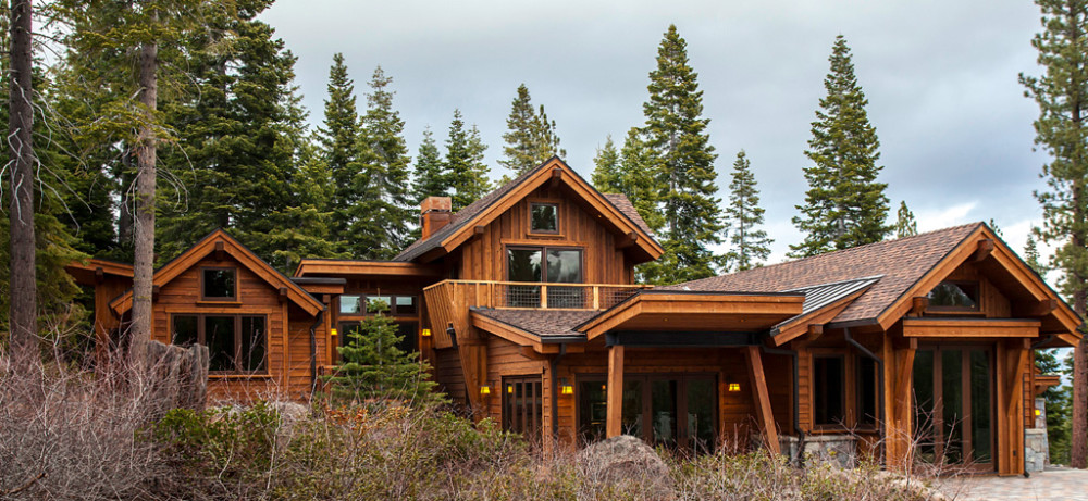 Martis camp borelli architecture incline village at for Tahoe architects