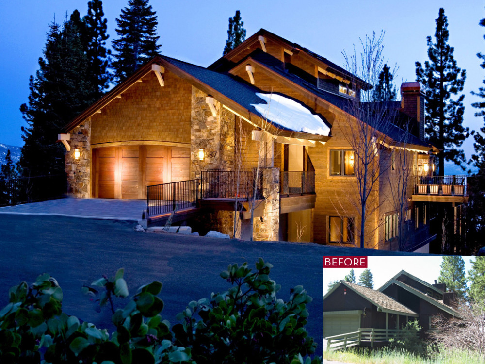 587 fallen leaf borelli architecture incline village for Tahoe architects