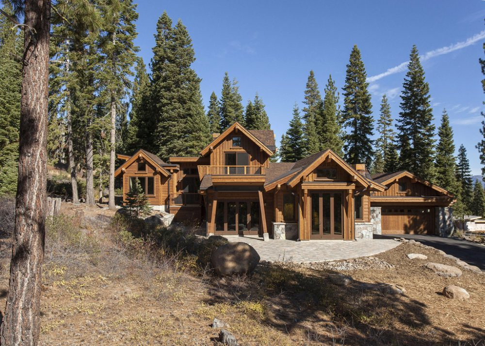 Martis camp lot 47 borelli architecture for Tahoe architects