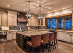 Kitchen Ski-On/Ski-Out Custom Family Lodge in Northstar by Borelli Architecture