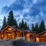 Exterior Luxury Home in Martis Camp Truckee California by Borelli Architecture