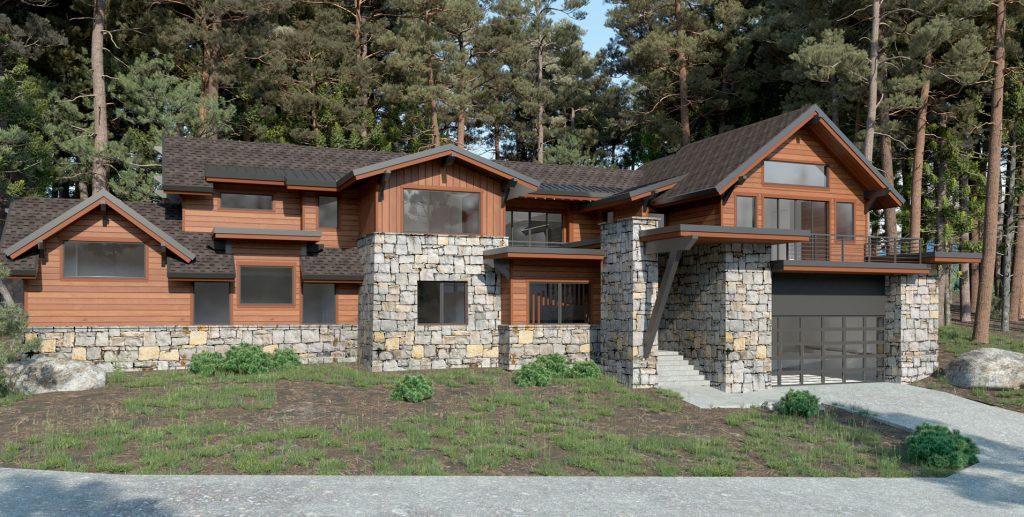Mountain Home Design in Incline Village